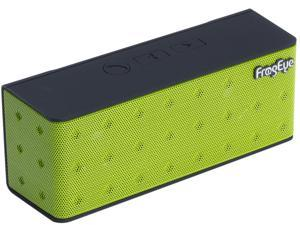 FrogEye HotBox S7+ Green Bluetooth Speaker Speakerphone Power Bank