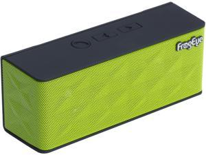 FrogEye HotBox S6 Green Wireless Speaker Speakerphone