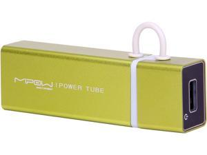 MiPow Power Tube Green 3000 mAh Portable Battery SP3000-GN