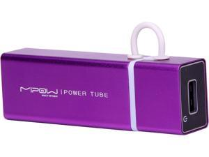 MiPow Power Tube Purple 3000 mAh Portable Battery SP3000-PU