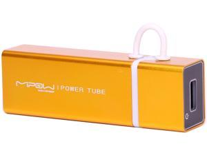 MiPow Power Tube Gold 3000 mAh Portable Battery SP3000-GD