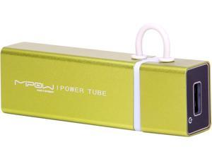 MiPow Power Tube Green 4000 mAh Portable Battery SP4000-GN