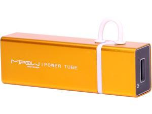 MiPow Power Tube Gold 4000 mAh Portable Battery SP4000-GD