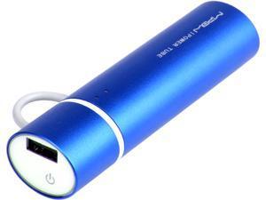MiPow Power Tube Blue 2600 mAh Lightning Portable Charger SP2600OLNB