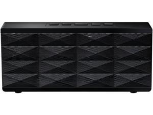 Eagle ET-AR101BP-BK Black Portable Bluetooth Speaker with built-in noise cancelling Microphone