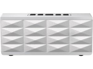 Eagle ET-AR101BP-WH White Portable Bluetooth Speaker with built-in noise cancelling Microphone