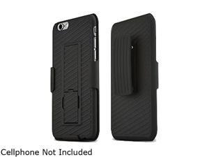 Wireless Xcessories Group Black Apple Iphone 6 Kickstand Holster Shell Combo - BULK FXCOV6