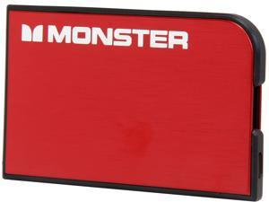 Monster PowerCard Cherry Red 1650 mAh Portable Battery MBL PCARD RD V2 WW