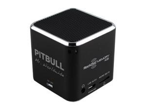 Pitbull RockDoc MEMORY Portable 1way 4GB/MP3 Speaker 900584, Black