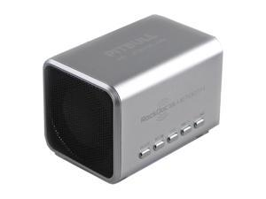 Pitbull RockDoc BLUETOOTH Portable 2way Speaker Black 900583, Silver
