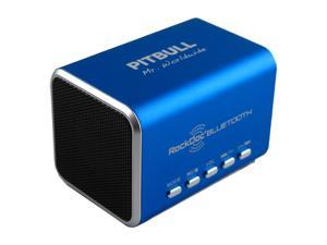 Pitbull RockDoc BLUETOOTH Portable 2way Speaker Black 900578, Blue