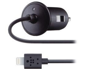BELKIN F8J075BTBLK Black Car Charger with Lightning connector for iPhone 5 (2.1 Amp)