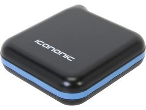 iCanonic Black Blue 12,000 mAh Universal Rechargable Power Pack ICR-12000B