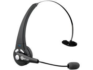 NoiseHush N700m-11867 Crystal Clear Multipoint Bluetooth Headset - Black