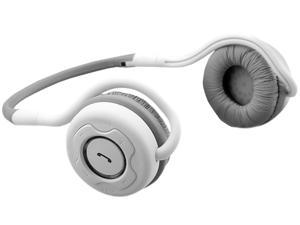 NoiseHush NS400-11941 White Bluetooth Stereo Headset