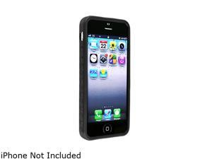 Insten Black 1X Bumper TPU Case For iPhone 5 712655