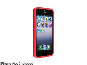 Insten Red 1X Bumper TPU Case For iPhone 5 712657