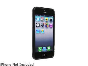 Insten Black S Shape 1X TPU Case w/ Stand For iPhone 5 712660