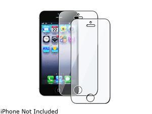 Insten 1X 2-LCD Reusable Screen Protector For iPhone 5 / 5S 739009