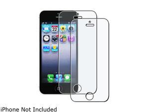 Insten 2-Pack Anti-Glare Screen Protector compatible with Apple iPhone 5 / 5S