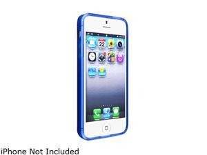 Insten Frost Clear Dark Blue TPU Case with Mirror Screen Protector compatible with the NEW Apple iPhone 5