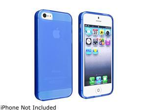 Insten 2 Packs Checker TPU Frost Case (Hot Pink , Dark Blue) compatible with the NEW Apple iPhone 5