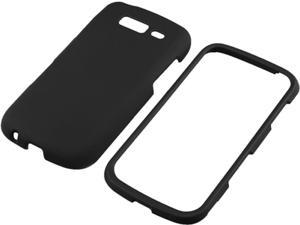 Insten Black Snap-on Rubber Coated Case for Samsung Galaxy S Blaze 4G T769 719419