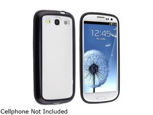 Insten Clear with Black Trim TPU Rubber Skin Case for Samsung Galaxy S3 719306