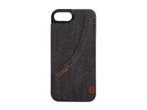 The Joy Factory Denim Smoke Premium Hardshell Case w/ Pocket for iPhone 5 CSD111