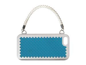The Joy Factory New York, New York Turquoise Solid Woven Handbag Case w/ Handle for iPhone 5 CSD122