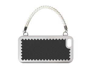 The Joy Factory New York, New York Black Solid Woven Handbag Case w/ Handle for iPhone 5 CSD123