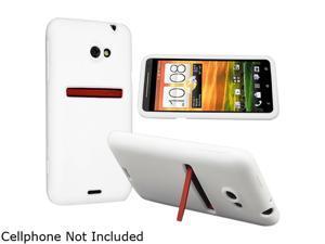 Insten White Silicone Skin Case for HTC EVO 4G LTE 682361