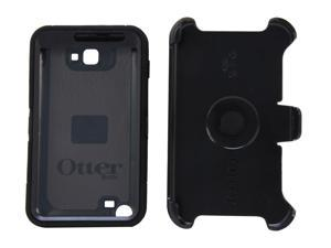 OtterBox Defender Black Solid Case For Samsung Galaxy Note N7000 77-19407