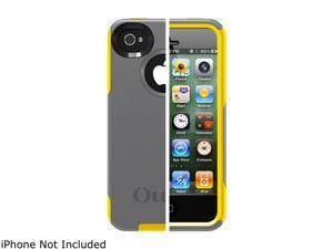OtterBox Commuter Gunmetal Grey PC / Sun Yellow Slip Cover Case for iPhone 4/4S APL4-I4SUN-F3-E4OTR