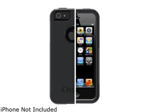 OtterBox Commuter Black Solid Case For iPhone 5 77-21912