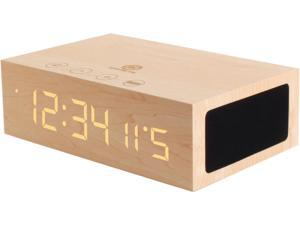 GOgroove BlueSYNC TYM Wireless Bluetooth Speaker Clock Kit with Alarm Functions and LED Display -  Works With Smartphones ...