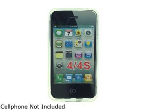 Aftermarket Line White Snap On Cover For iPhone 4/4S APLIPH4SSCWT