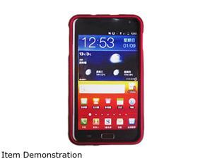 Aftermarket Red Snap On Cover Bulk Package For Samsung Galaxy Note SAMI717SCRD