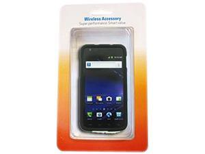 Aftermarket Black Snap On Cover AT&T Package For Samsung Galaxy SII SkyRocket SAMI727SCBK