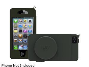 iLuv Black Camera Premium Leather Case For iPhone 5 ICA7J344BLK