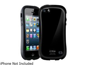 iOttie Macaron Black Solid Protective Case for iPhone 5 / 5S CSCEIO202
