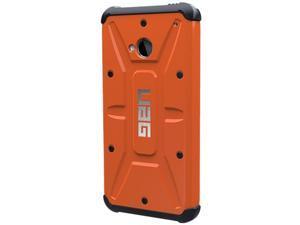 UAG Outland Composite Hybrid Case for HTC One UAG-HTC1-RST/BLK-W/SCRN-VP