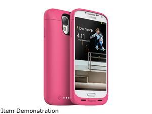 mophie Pink 2300 mAh Rechargeable External Battery Case made for Samsung Galaxy S4 2336_JP-SSG4-PNK