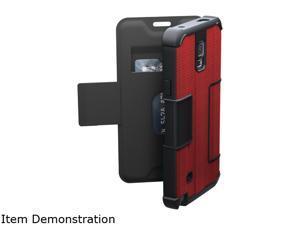 Urban Armor Gear Red/Black Solid Folio Case for Samsung Galaxy Note 4 UAG-GLXN4F-RED-VP