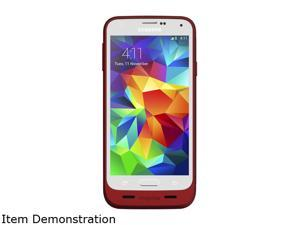 Mophie Juice pack Red 3000 mAh Battery Case for Galaxy S5 2333_JP-SSG5- RED