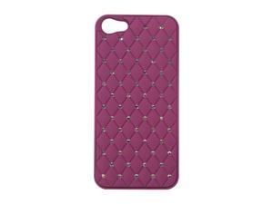 AMZER Purple Diamond Lattice Snap On Shell Case For iPhone 5 AMZ94727
