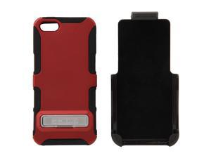 Seidio DILEX Combo (w/ Kickstand ) Garnet Red Case For iPhone 5 / 5S BD2-HK3IPH5K-GR