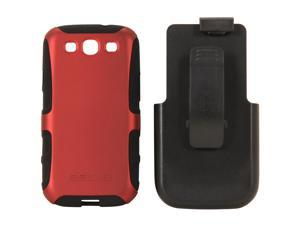 Seidio ACTIVE Combo Garnet Red Holster For Samsung Galaxy S III BD2-HK3SSGS3-GR