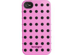 Kensington Pink w/Black Dots Combination Case for iPhone 4 & 4S K39392US