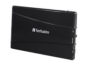 Verbatim Black 10000 mAh Portable Dual USB Power Pack Charger 97926